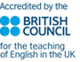 Accredited by the British Council for the teaching of English